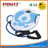 exercise twister plate, waist twisting disc with rope