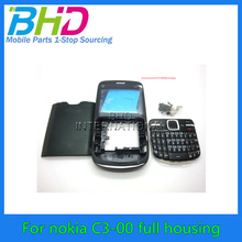 high quality full housing For NOKIA C3-00 with keypad china manufacture factory price