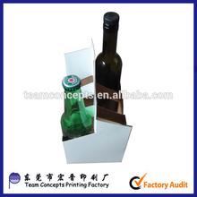 4 and 6 pack beer cardboard carrier