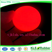 colourful fluorescence rubber ball bouncing ball