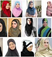 tie arab head scarf