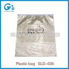 Packaging bag manufacturer t-shirt 100% biodegradable plastic charity bag