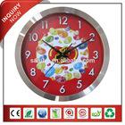 Chaoshan Custom Shiny Frame Aluminum Wall Clock