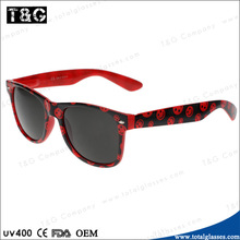 Free sample plastic sunglasses cartoon frame funny eyewear China supplier lowest price glasses