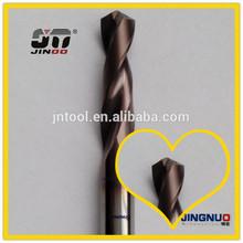 Jinoo CNC herramientas de corte de metal duro mango cilíndrico alta calidad cono morse drill set