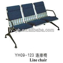 Steel airport waiting chair