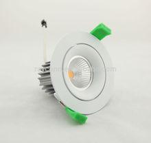 COB LED downlight module, low UGR<19, 50w halogen spot replacement
