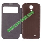 New Arrival Leather Battery Case for Samsung Galaxy S4 I9500