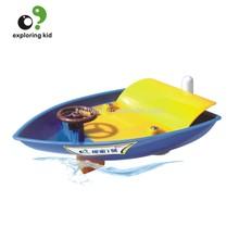 EK-D006Jet Boats, school Kids Self-assembly Toys