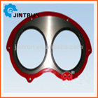 PM/Schwing/Sermac/Cifa/Kyokuto/Mitsubishi/Niigata/IHI Sany/Zoomlion wear plate and cutting ring concrete pump spare parts