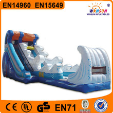 2014 NEW product Kids cheap PVC inflatable indoor slide