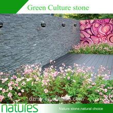 Cheap interior cultured stone natural slate brick wall cladding ledge stone veneer