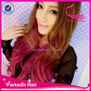 New product cheap colorful brazilian hair full lace flashing wigs for party