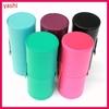 12pcs cosmetic makeup brush set free sample wtih cylinder holder