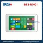 New stylish otg gps dual camera 1024x600 512M 4G 7 inch cross tablet