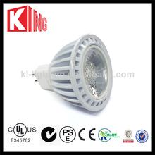 High lumen Ceramic 6w 80Ra mr16 /gu10 cob led spot light outdoor