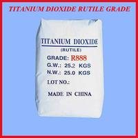 Rutile Tio2 price titanium dioxide similar to R996