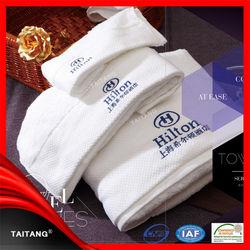 High quality satin border stock fancy erode indian organic cotton tea towel