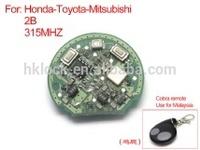 for Honda remote board 2 buttons 315MH (chicken leg board)