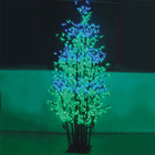 holiday decorative led play light string jade color wedding decorations
