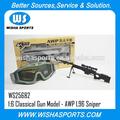 Plus récent 2014! Offre spéciale pour 1:6 classique en métal gun jouets modèle de série- awp sniper l96 jouet carabine