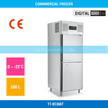 2014 Best Seller Upright Double Doors Commercial Vegetable Refrigerator