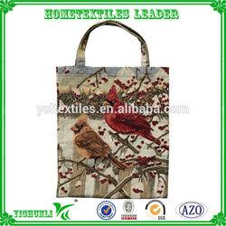 Wholesale jacquard custom tote bag for Shopping