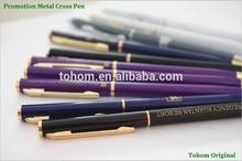 Oem factory metal cross ballpoint pen,aluminum pen
