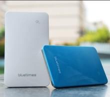 7.5mm ultra slim touch screen design,4000mah portable power bank