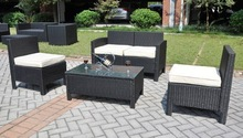 hot selling home and gardan outdoor rattan sofa set