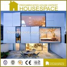Foldable Panelized Modular Building Prefab House Shanghai