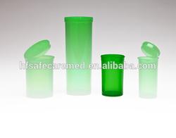 Drug Reversible Vials Plastic,Prescription Vial,Pharmacy Jar