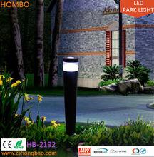 Adopt Sunon Fan!!! Samsung 45W UL/cUL/LM79 approved high lumen Bollard solar garden lights