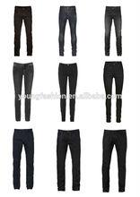 Cotton Denim Jeans Casual Black Jeans