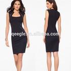 Ladies New Office Dress,Black Tight Fit Office Dress, Office Lady Formal dress