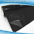 Sino de etiqueta engomada del coche 1.35x15m 4.4ftx49ft superior calidad del vehículo coche techo solar de la película