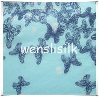 fabric digital printing for silk material