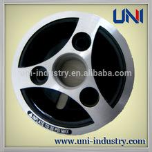 uni10006 custom OEM die casting aluminum wheel hub for auto wheelchair