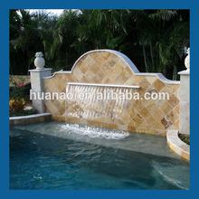 garden pond waterfall, artificial indoor waterfall, artificial waterfalls glass