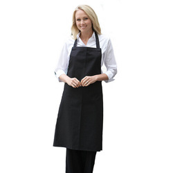 Plain Apron with Front Pocket for Chefs Butchers Kitchen Cooking Craft UK Baking