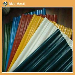 Color Coated Metal Roofing Tile / Metal Corrugated Tile Roofing
