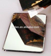 Artificial acrylic painted mirror sheet scrap