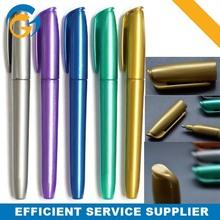 Metal Barrel 4PC Permanent Marker Pen with waterproof ink
