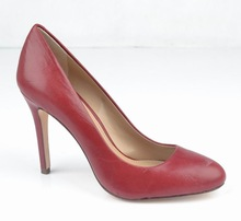 wine red women court shoes woman dress shoes