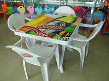 PP white wholesale us leisure plastic tables