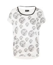 woman sex short sleeve shirt with spot