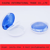 Round compact face powder case with mirror