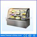Equipamento da padaria- canto de luxo mostrar bolo de geladeira/chiller bolo/cupcake vitrine refrigerada