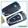 car key shell for Hyundai/KIA Tucson Santa Fe 2+1 Button Refitting Folding Remote Key Shell