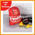 Moq 100 stück für individuelles design, fabrik liefern billige UEFA Arsenal rucksack
